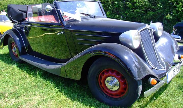 Кабриолет Tatra 57-A