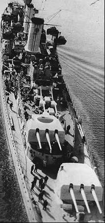 Легкий крейсер «Koln»