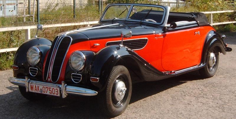 Кабриолет BMW-327