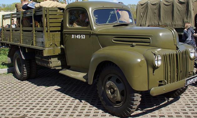 Грузовик G-8T (Ford -6)
