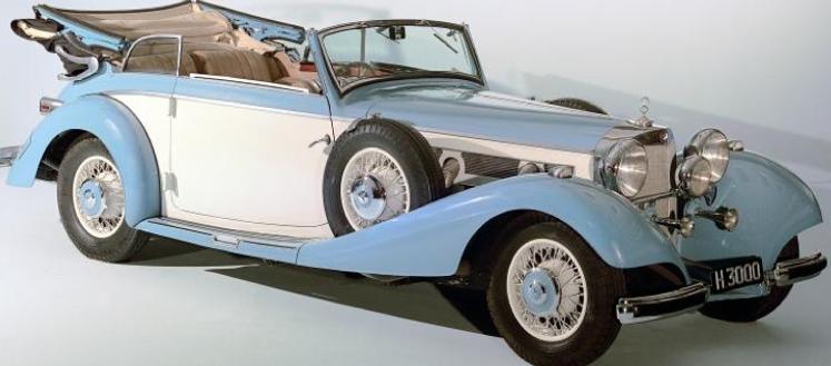Кабриолет Mercedes-Benz 540-K (W-24)