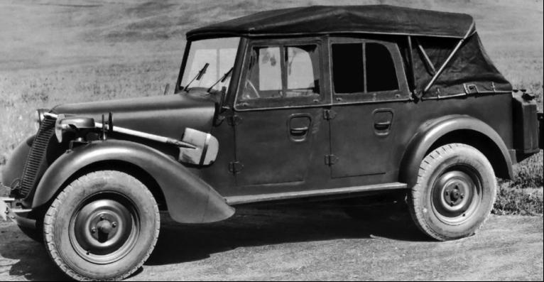 Автомобиль Tatra 57-K