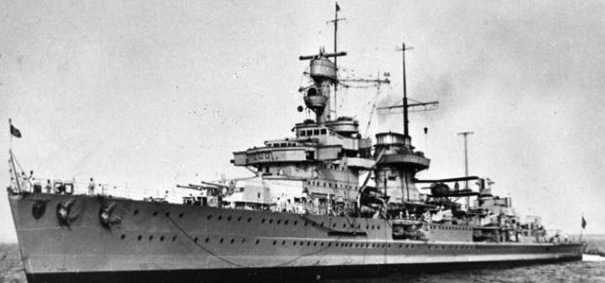 Легкий крейсер «Nurnberg»