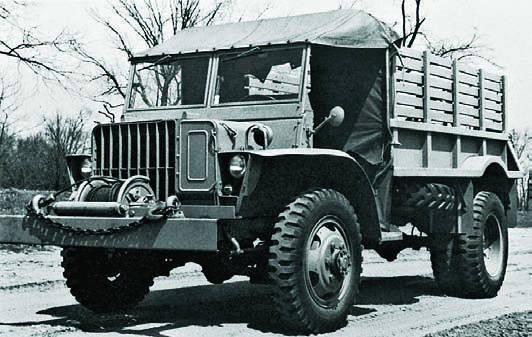 Бортовой грузовик Ford GTBА