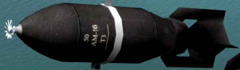 Рисунок бомбы ФАБ-50