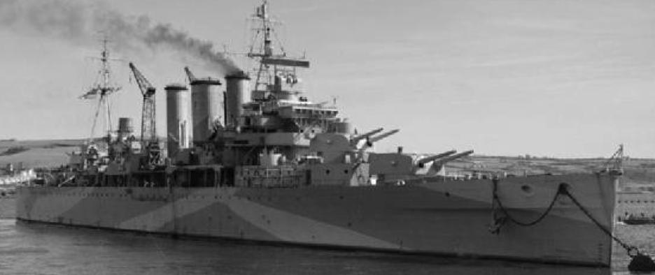 Тяжелый крейсер «Bervick»