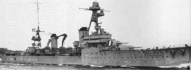 Тяжелый крейсер «Dupleix»