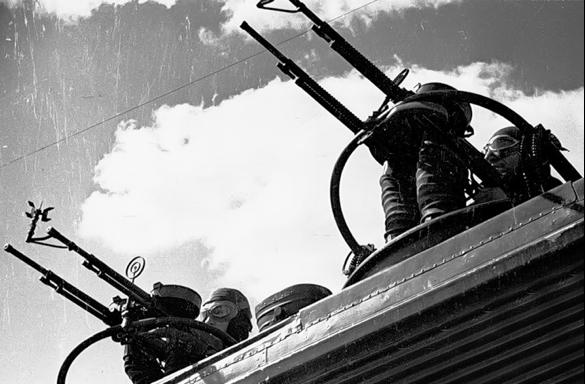 Спаренный турельный пулемет ШКАС