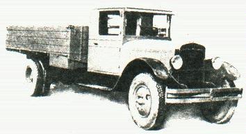Бортовой автомобиль ЗиС-14