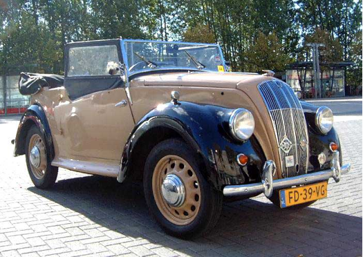 Автомобиль Morris 8 Series E (кабриолет)