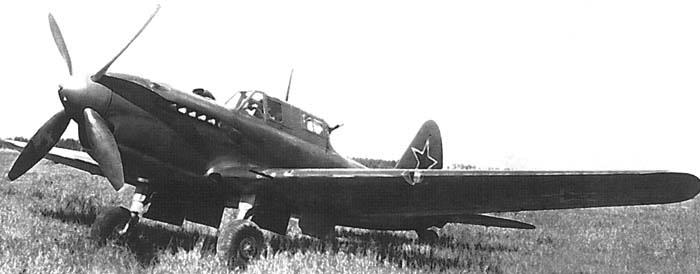 Штурмовик Су-6 М-71Ф