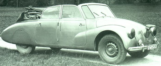 Кабриолет Tatra 87