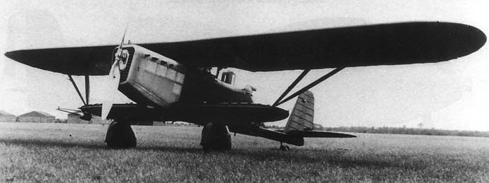 Бомбардировщик Breguet Br.273