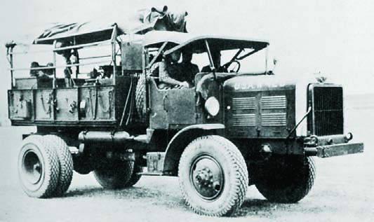 Бортовой грузовик FWD М-7