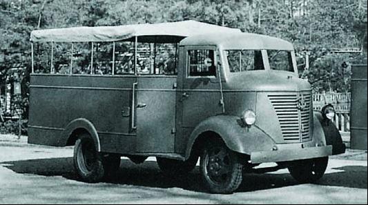 Пассажирский грузовик Nissan-80