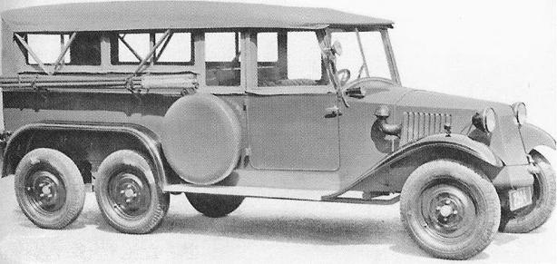 Автомобиль Tatra 72