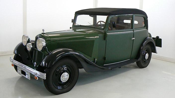 Cabrio-Limousine DKW Sonderklasse 1001
