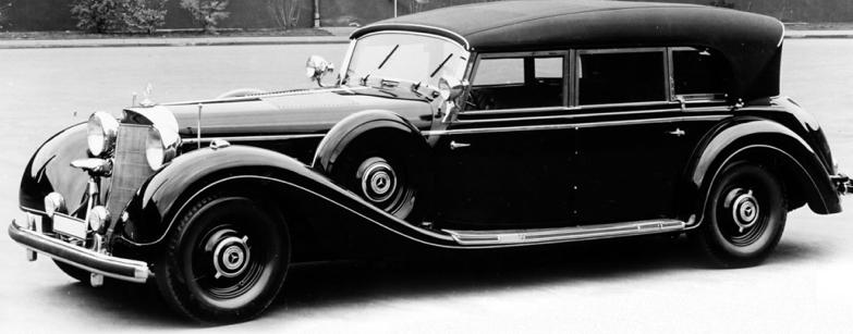 Кабриолет Mercedes-Benz 770 (W-150)