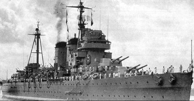 Тяжелый крейсер «Canarias»