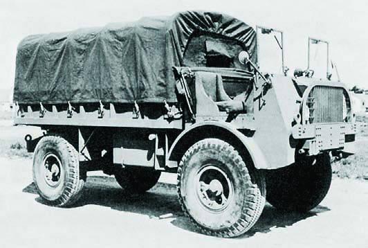 Грузовик FWD SU-SPM