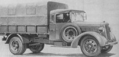 Бортовой грузовик Nissan Type 97