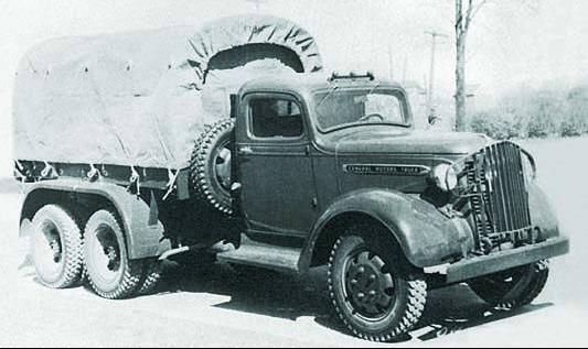 Бортовой грузовик GMC Т-16 (4929)