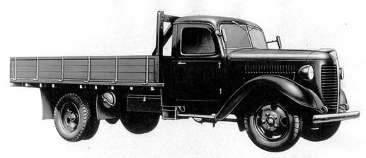 Бортовой грузовик Toyota KB