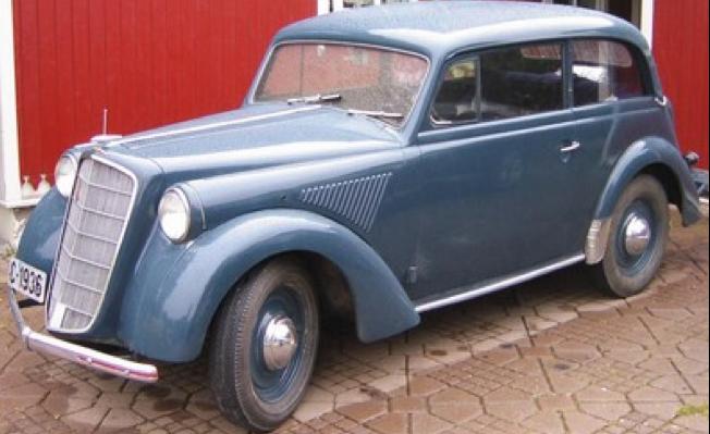 Седан Opel Olympia