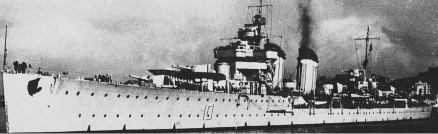 Легкий крейсер «Almirante Cervera»
