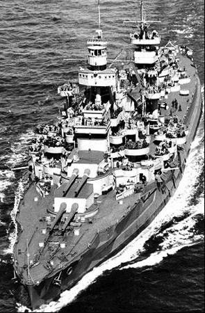Линейный корабль «Arkansas» (ВВ-33).