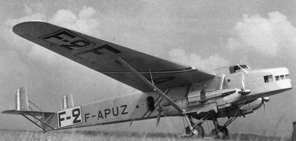 Бомбардировщик Farman F-221 (NC.223)