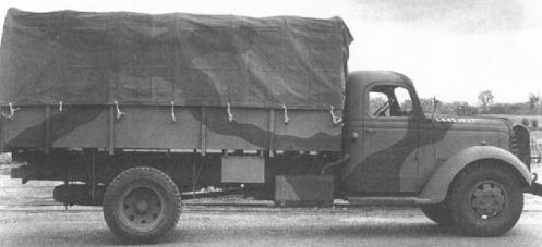 Грузовик GMC АСХ-504