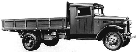 Бортовой грузовик Toyota KC
