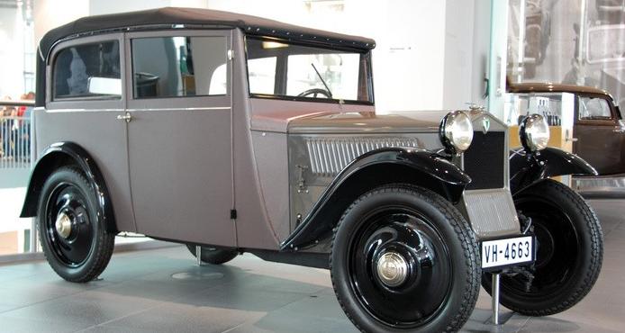Автомобиль DKW F-1 Cabrio-Limousine