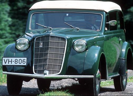 Кабриолет Opel Olympia
