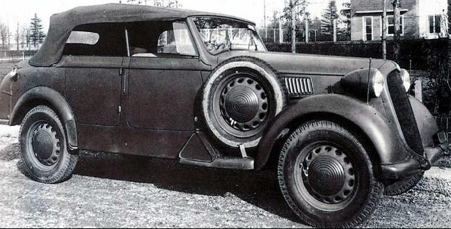 Автомобиль Alfa Romeo 6С-2500 Coloniale