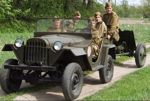 Внедорожник ГАЗ-67Б