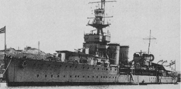 Легкий крейсер «Cardiff»