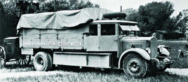 Грузовик Gräf & Stift V-6M