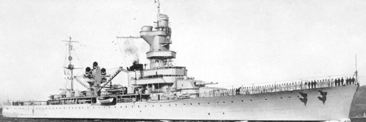 Тяжелый крейсер «Algerie»