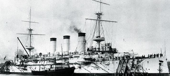 Броненосный крейсер «Yakumo»