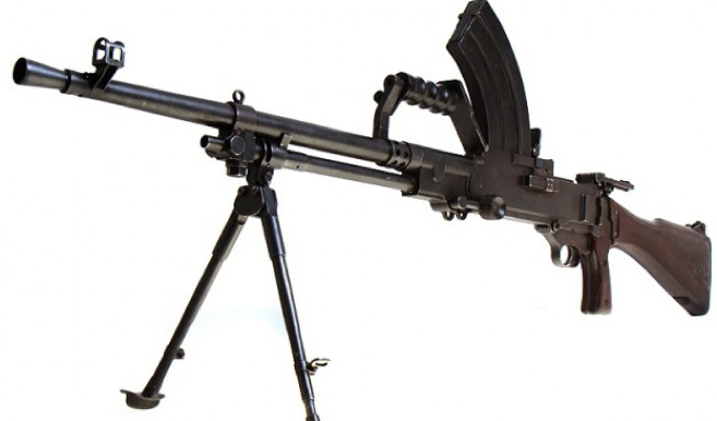 Ручной пулемет Vickers-Berthier Mk-3
