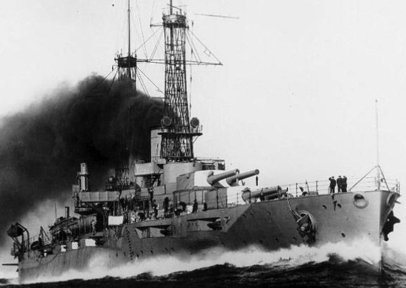 Линейный корабль «New York» (ВВ-34)