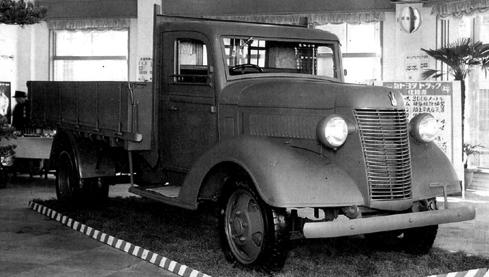 Бортовой грузовик Toyota GB