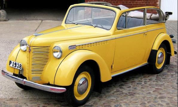 Cabrio Limousine Opel Olympia OL-38