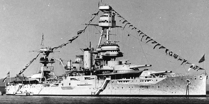 Линейный корабль «Texas» (ВВ-35)