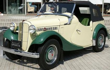 Кабриолет Datsun (Nissan) Type 12