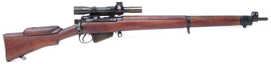 Снайперская винтовка SMLE №4 Mk-1 (Т)