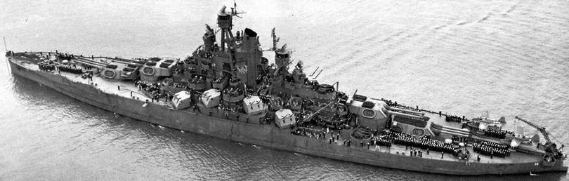 Линейный корабль «Nevada» (ВВ-36)