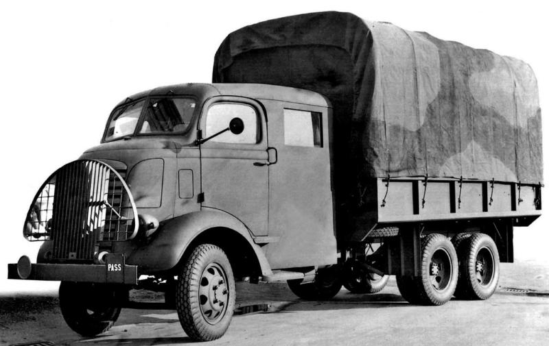 Грузовик GMC AFWX-354 с двойной кабиной